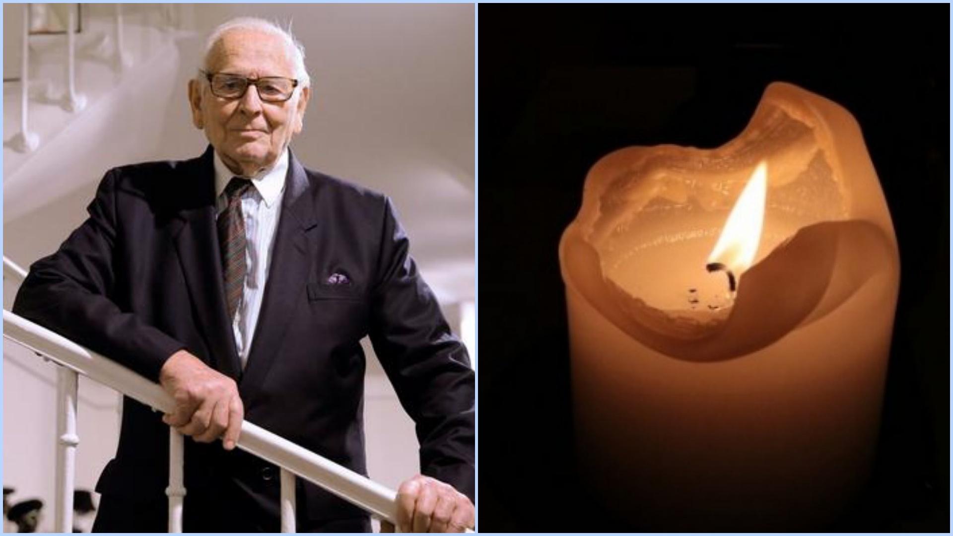 A murit Pierre Cardin. Celebrul designer avea 98 de ani