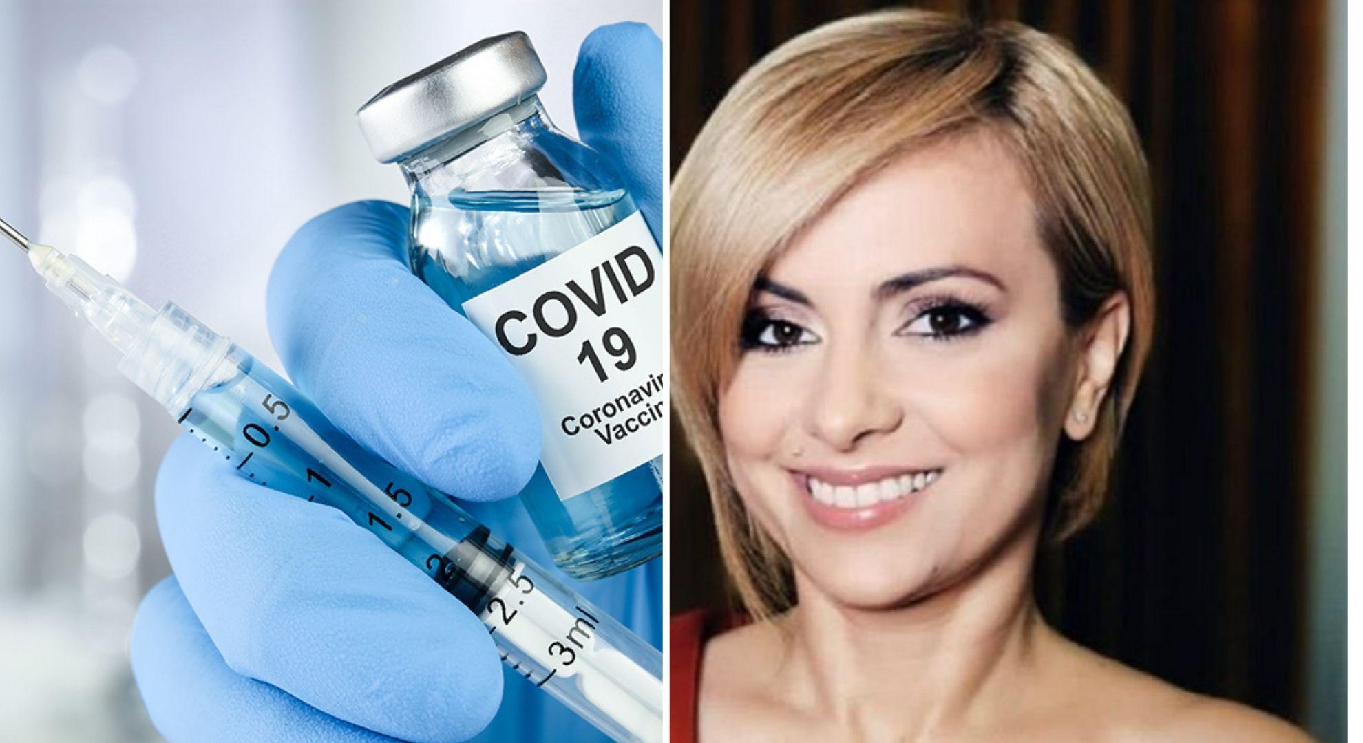 Simona Gherghe nerăbdătoare să-și facă vaccinul anti-coronavirus