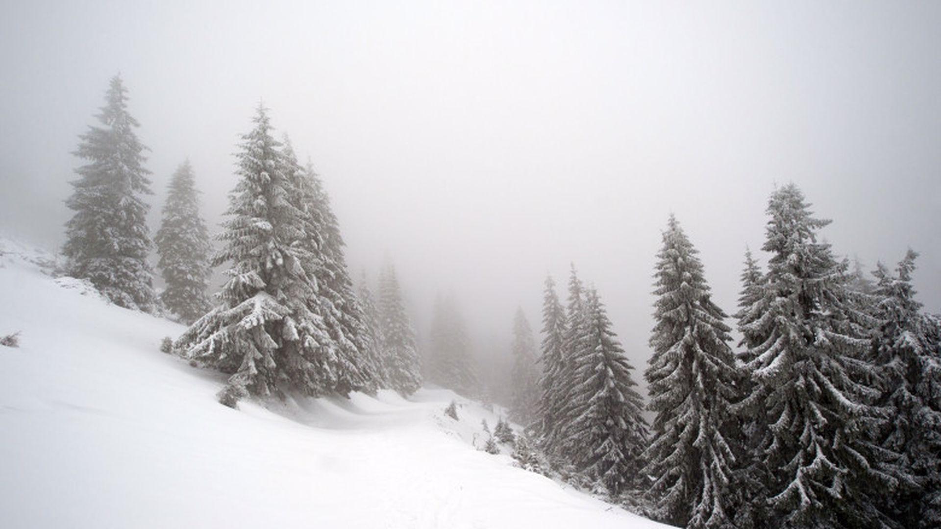 Avertisment CNAIR pentru toți șoferii. Sunt anunțate ninsori abundente și drumul este periculos