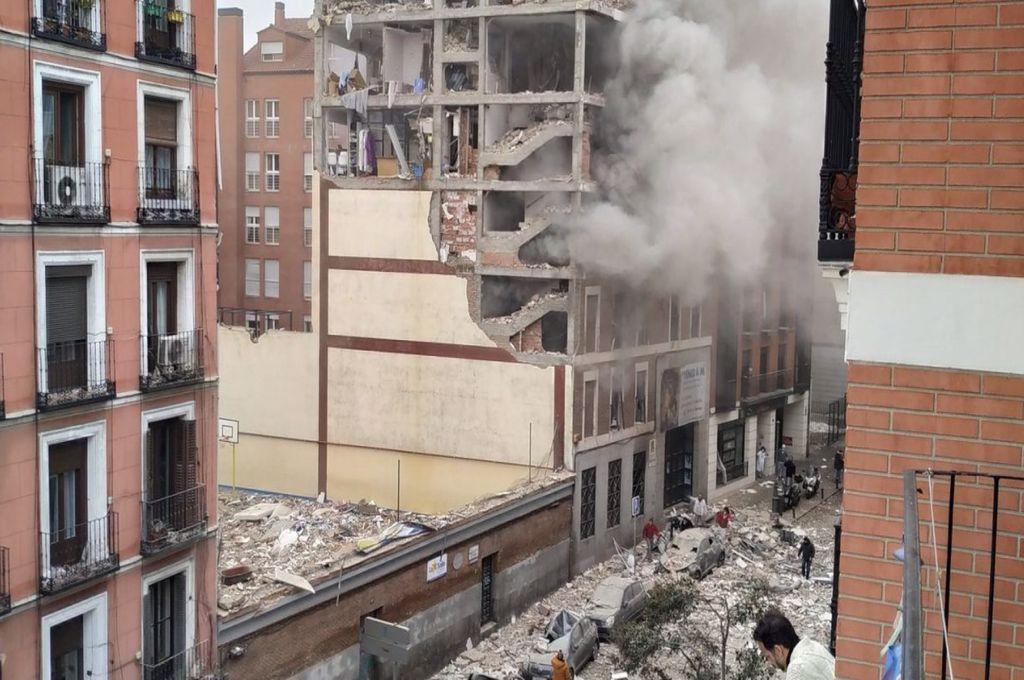 Explozie de proporții în Spania! Cel puțin două persoane au decedat