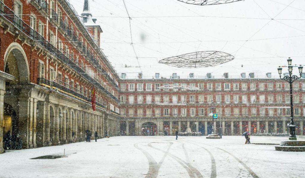 Iarnă istorică în Spania. Minus 36 de grade Celsius