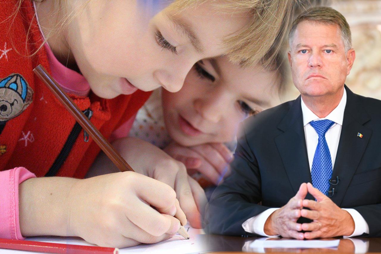 Klaus Iohannis discută cu premierul și cu miniștrii despre redeschiderea școlilor pe 8 februarie 2021