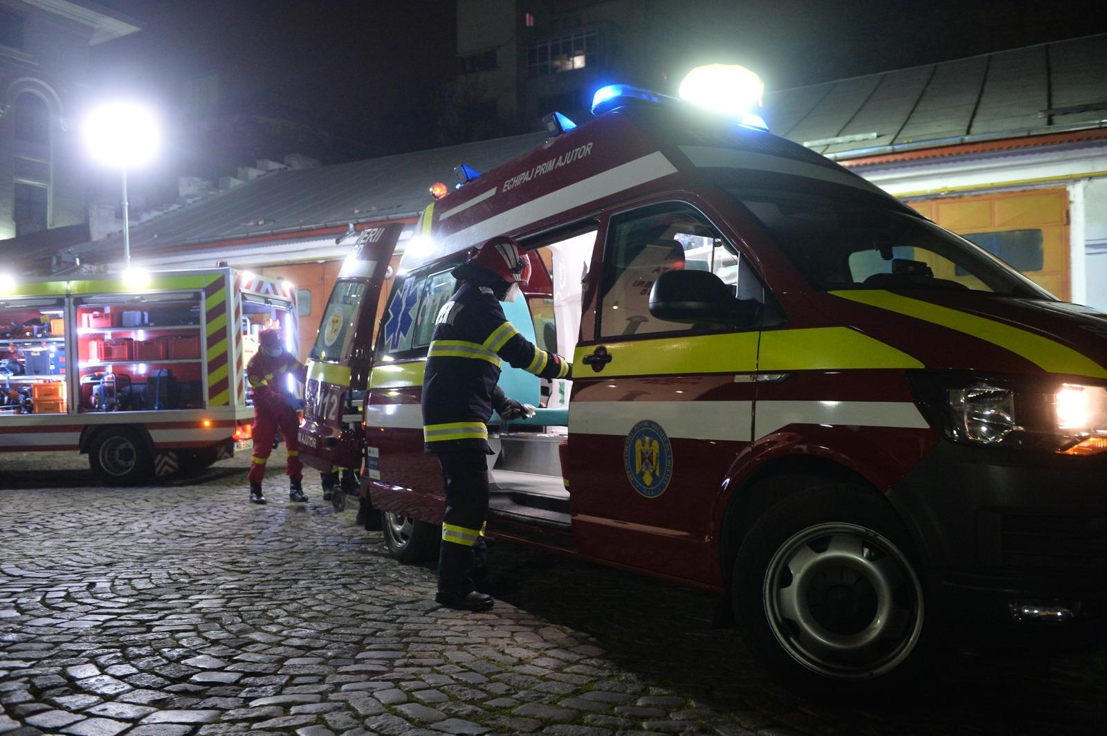 Incendiu la Spitalul Matei Balș din Capitală. Patru persoane au decedat