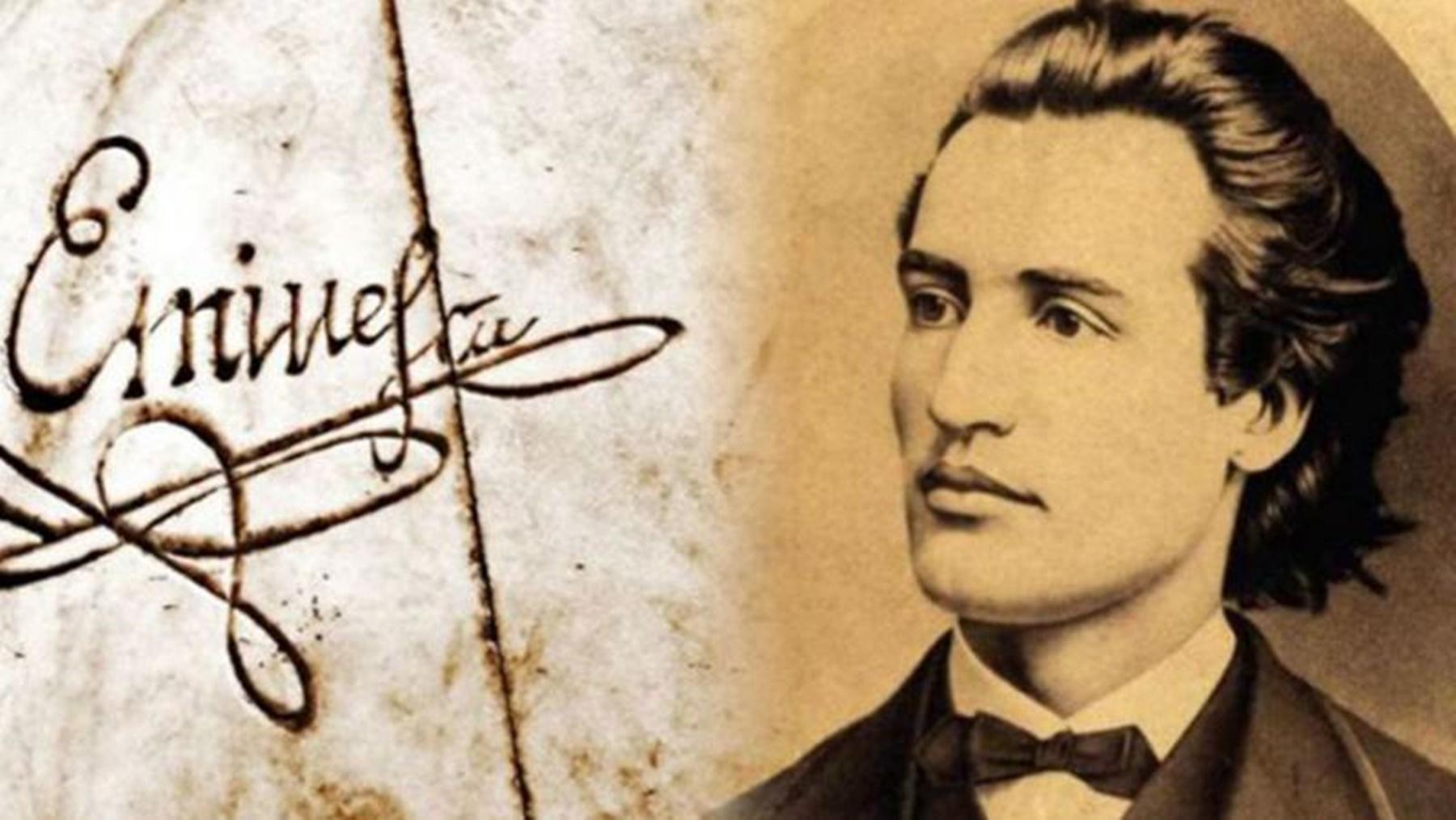 Mihai Eminescu - pe 15 ianuarie 2021 se împlinesc 171 de ani de la nașterea poetului național