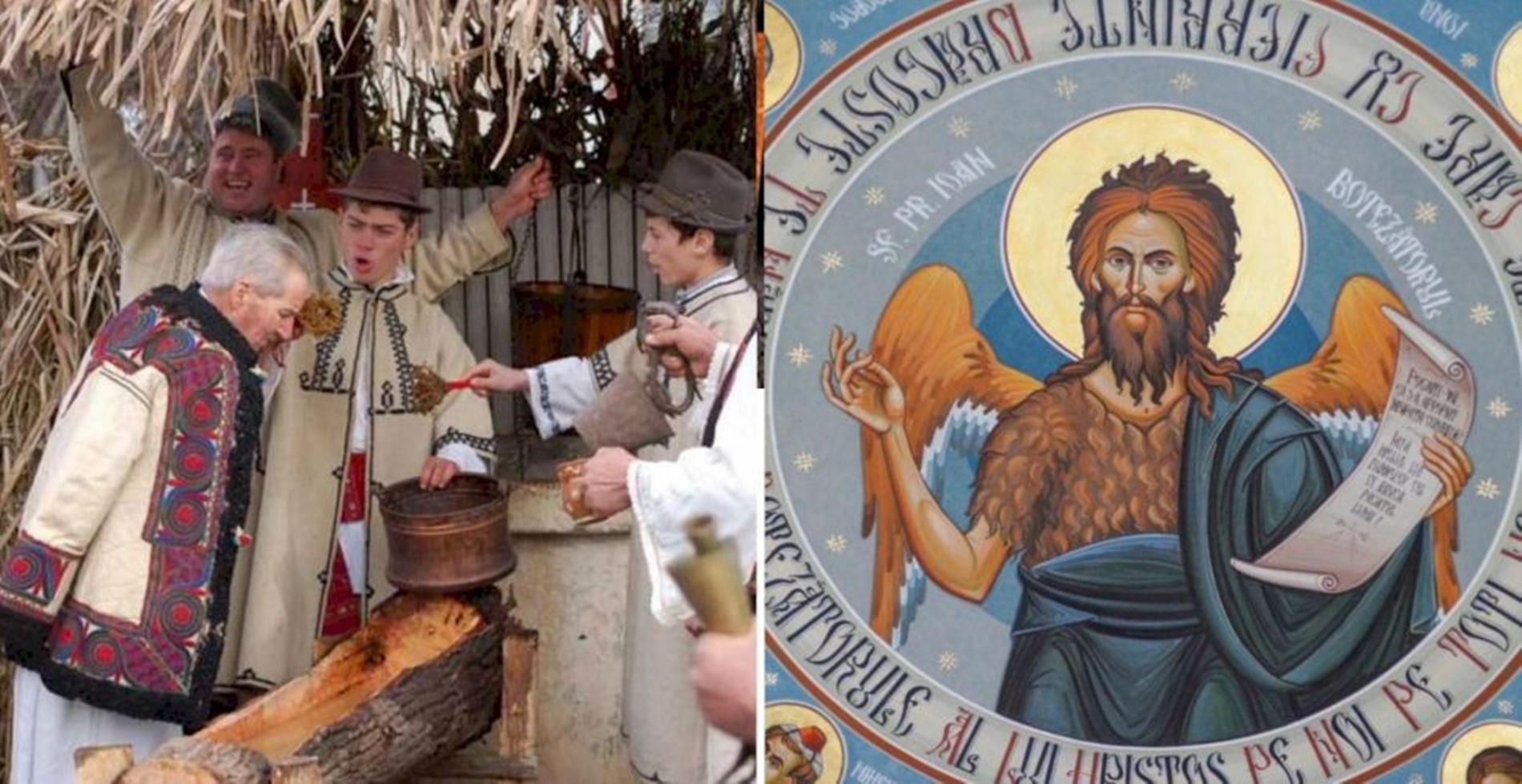 Sfântul Ioan Botezătorul. Tradiții, obiceiuri și superstiții pe 7 ianuarie 2021
