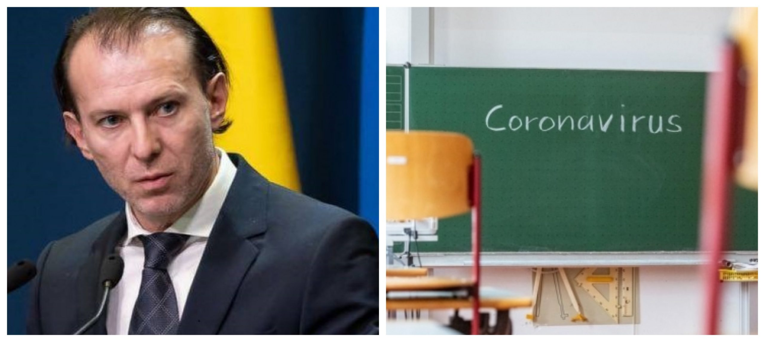 Florin Cîțu, despre situația din România. Ce se întâmplă cu școlile