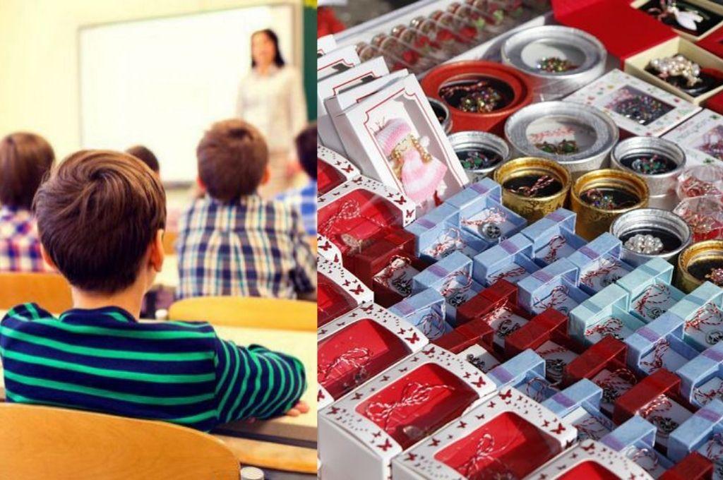 Flori și mărțișoare în școli de 1 și 8 martie! Ce interdicții au elevii