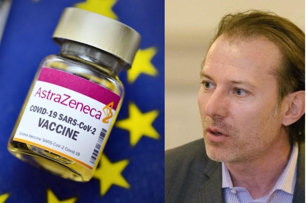 """Premierul Florin Cîțu: """"Din 10 februarie începe programarea pentru vaccinarea cu AstraZeneca"""""""