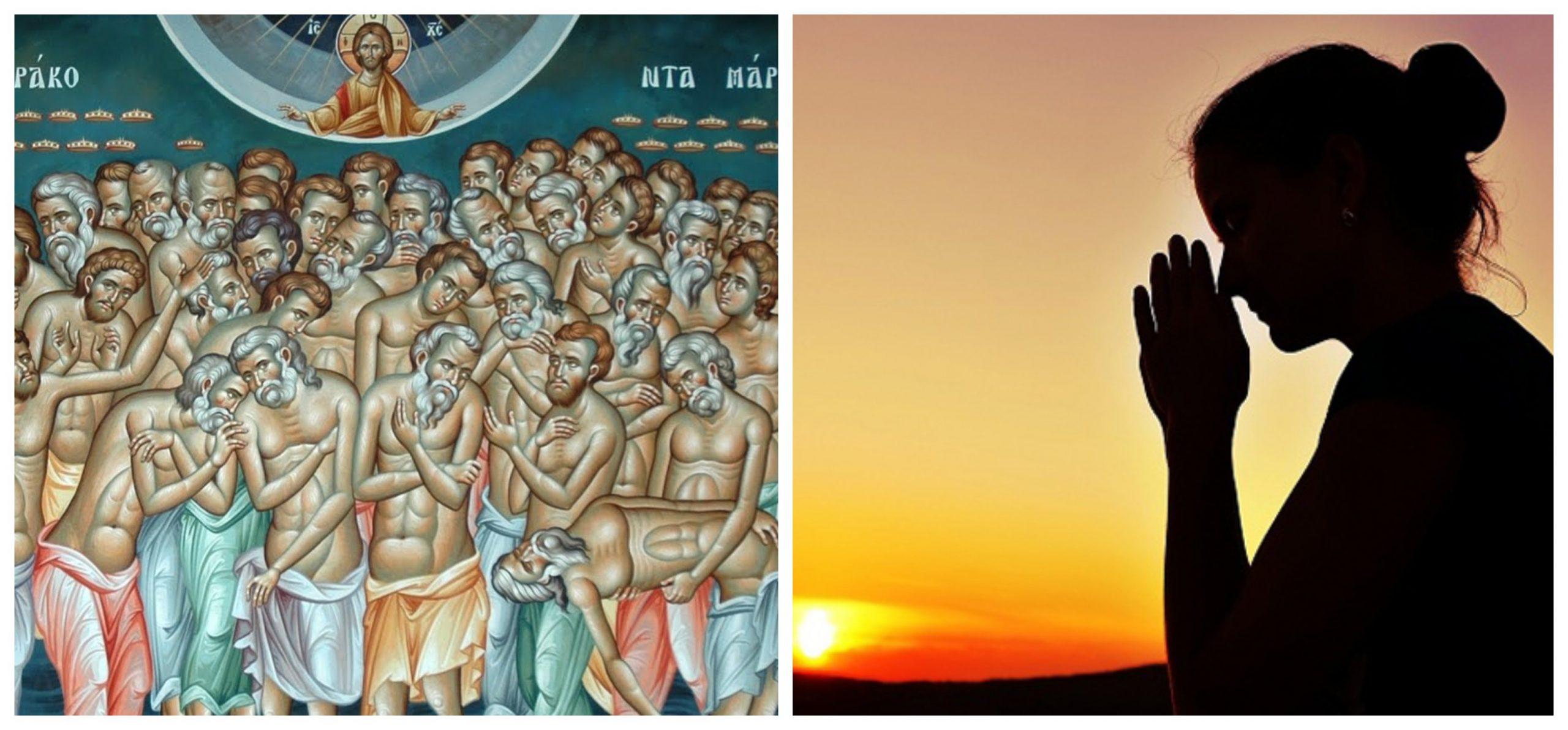 Rugăciunea zilei de 9 martie. Cea mai puternică rugăciune către Sfinții 40 de Mucenici