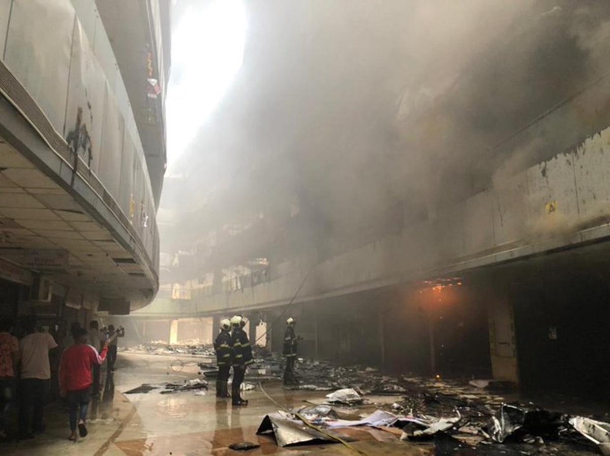 India: Incendiu de proporții la un spital cu bolnavi de COVID-19