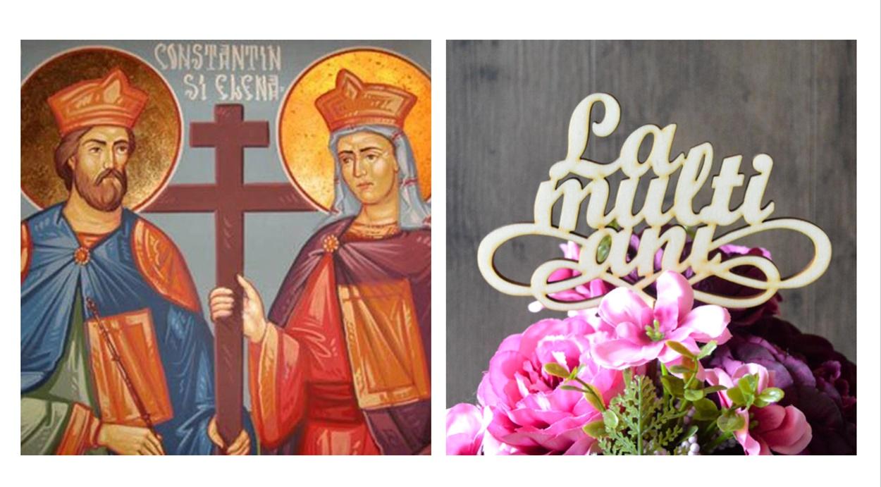 Mesaje și SMS-uri sincere de la mulți ani de sfinții Constantin și Elena
