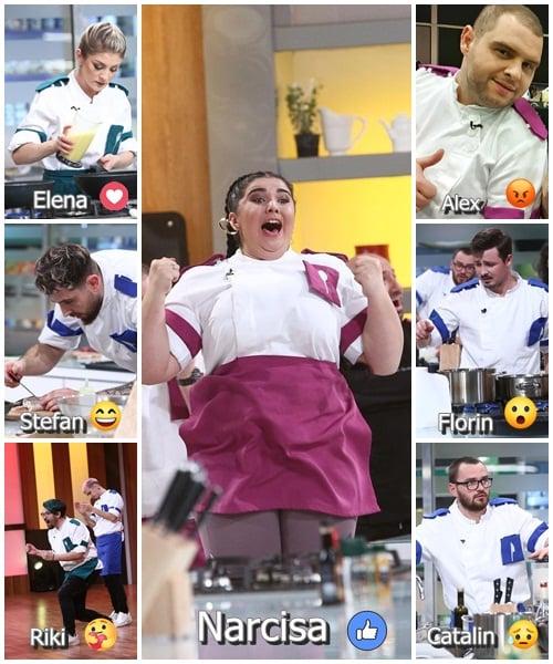 Concurenții din semifinala Chefi la cuțite, sezonul 9