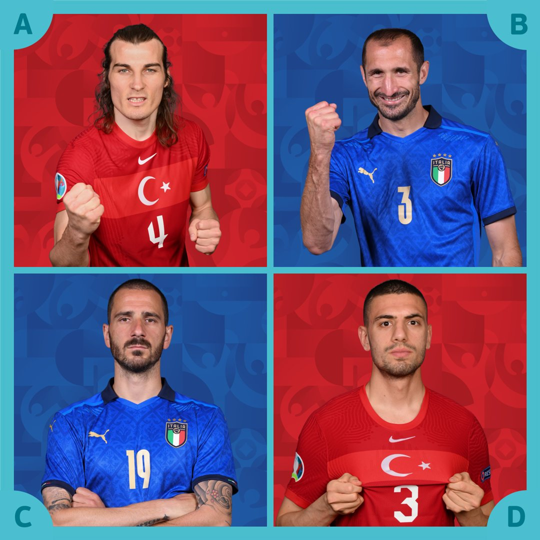 EURO 2020 Turcia - Italia. Meciul se vede la Pro TV și online live